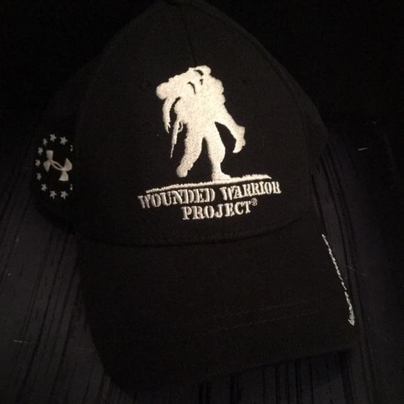 f2dbfc765c7 Under armour Wounded Warrior project SnapBack cap.  M 5c7c75eea5d7c6d37068fb64